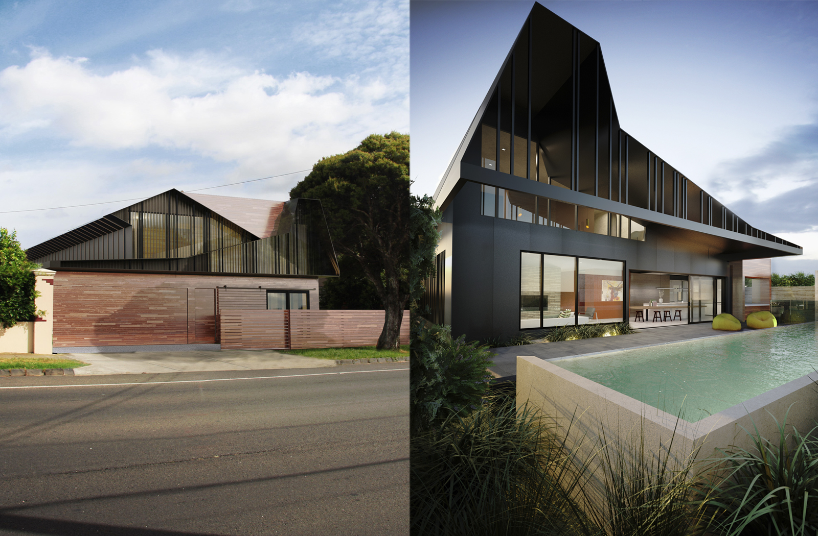 Ascot Vale Bungalow RAW Images Combined